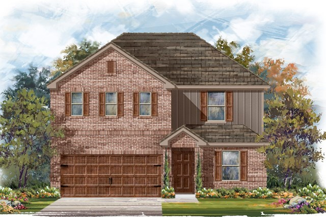 New Homes in Uhland, TX - Plan E-2403 H
