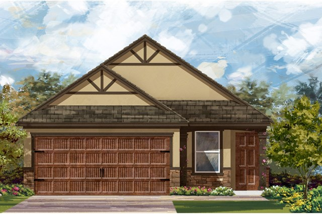New Homes in Uhland, TX - Plan F-1585 J