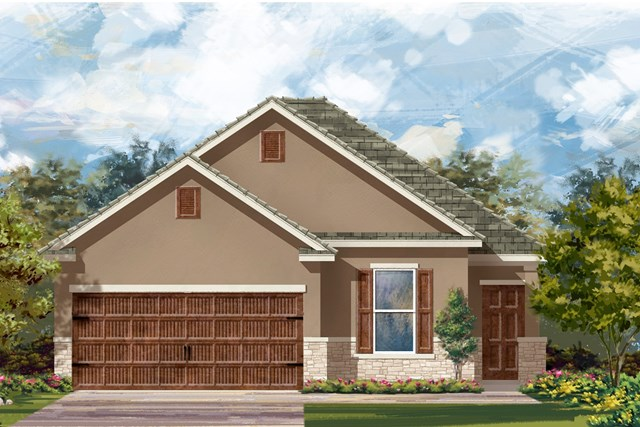 New Homes in Uhland, TX - Plan E-1694 K