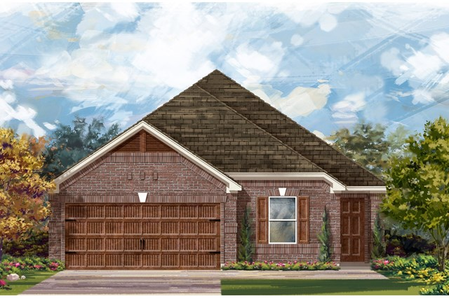 New Homes in Uhland, TX - Plan E-1892 H