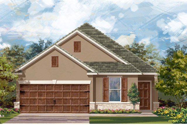 New Homes in Uhland, TX - Plan E-1892 K