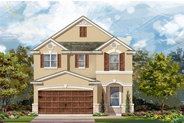 New Homes in Uhland, TX - Plan F-2411 J