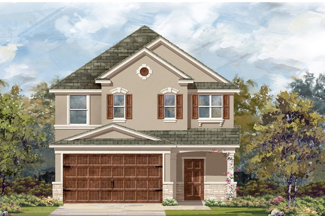 New Homes in Uhland, TX - Plan F-2495 J