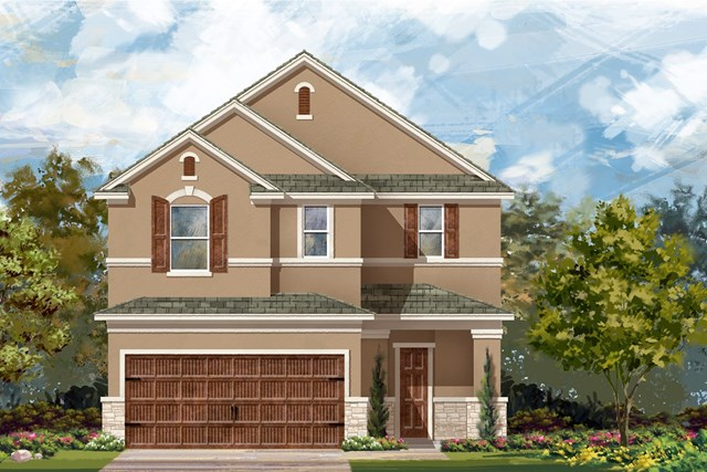 New Homes in Uhland, TX - Plan F-2708 J