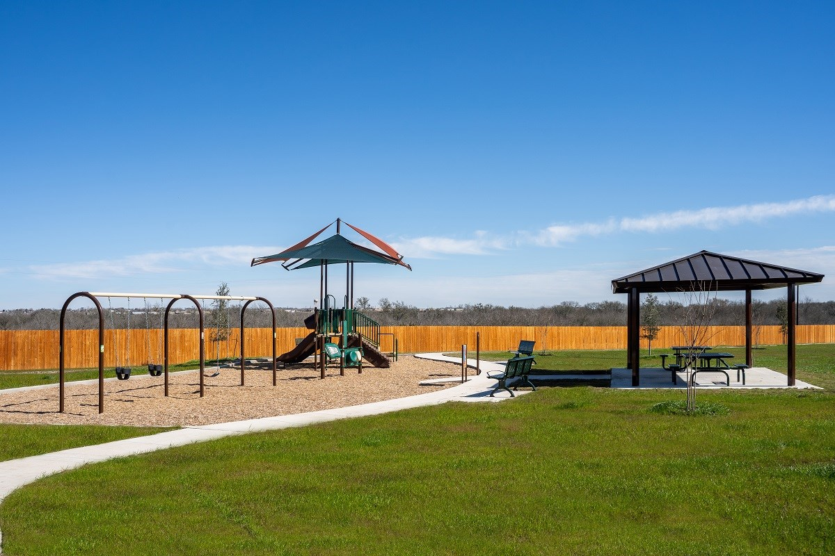 New Homes in Uhland, TX - Highlands at Grist Mill Community Park