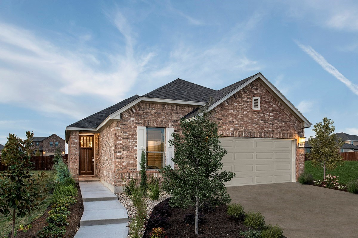 New Homes in Georgetown, TX - La Conterra - Heritage Collection Plan E-1694