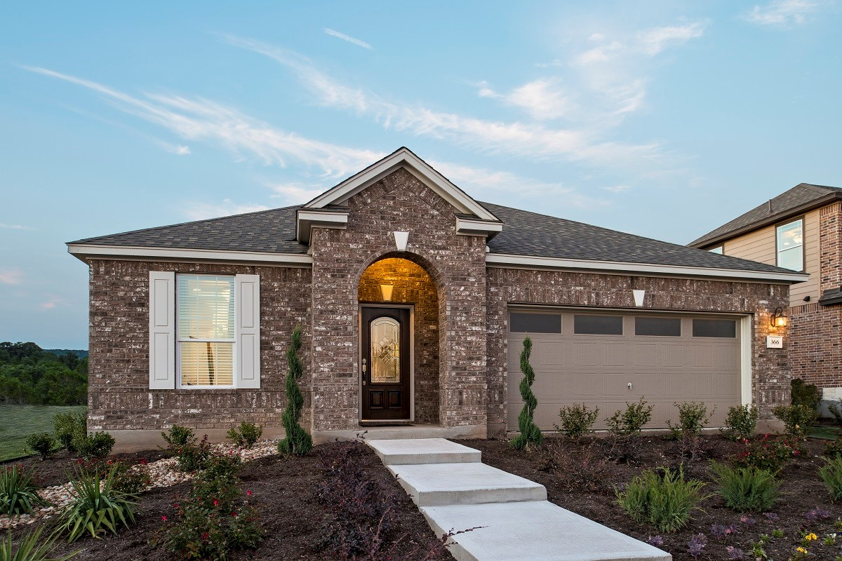 New Homes in Georgetown, TX - La Conterra - Classic Collection The A-2089