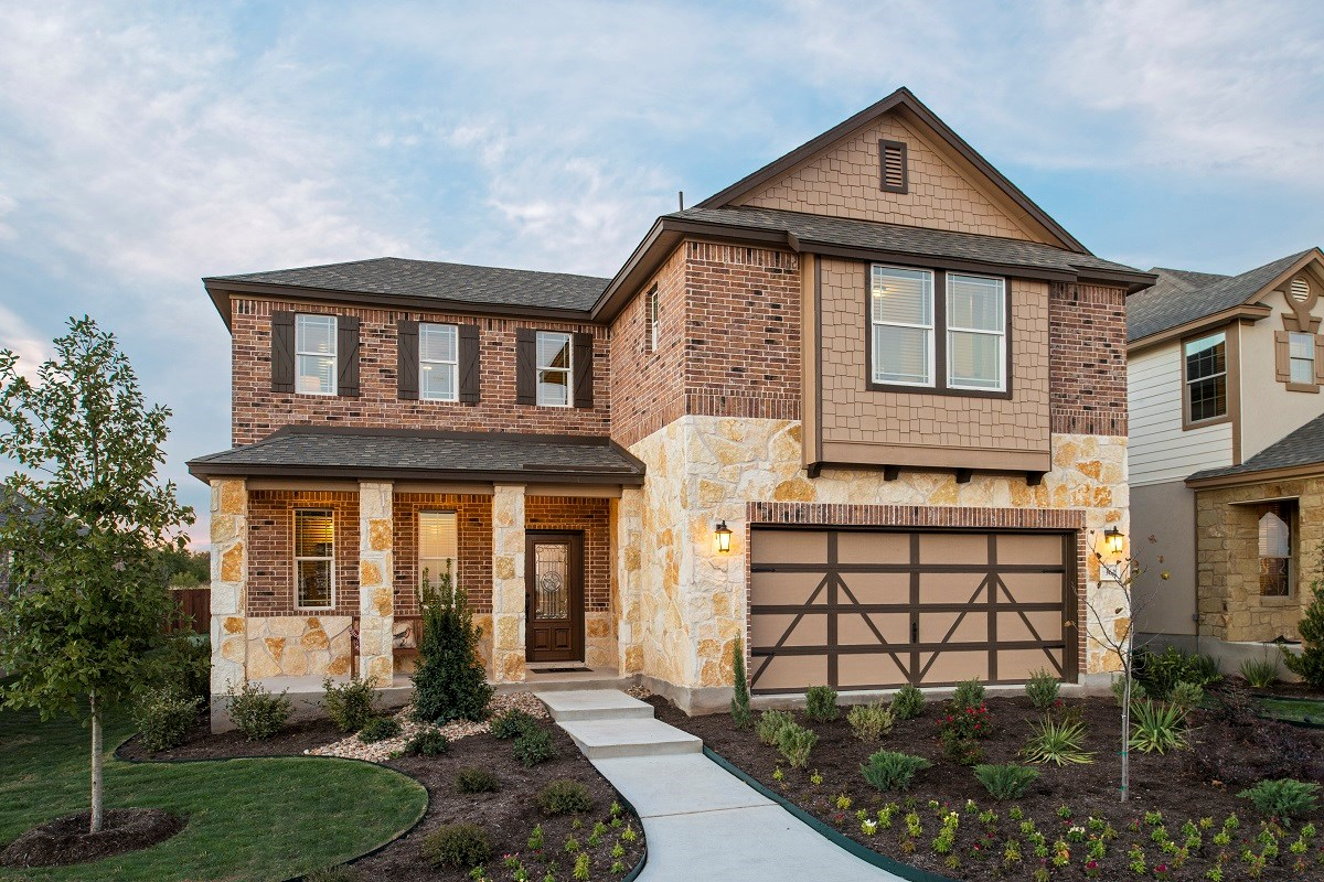 New Homes in Georgetown, TX - La Conterra The A-2502