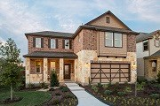 New Homes in Georgetown, TX - Plan A-2502 MODELED