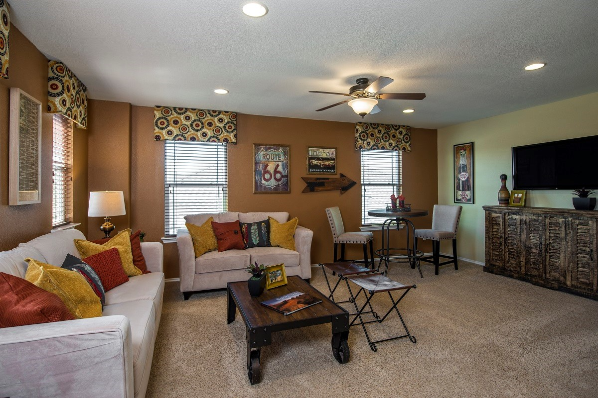 New Homes in Georgetown, TX - La Conterra The A-2502 Game Room