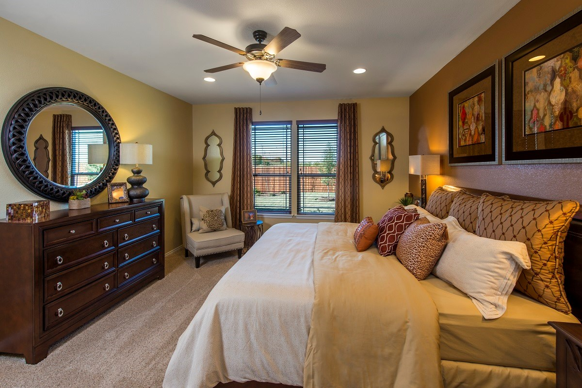 New Homes in Georgetown, TX - La Conterra - Classic Collection The A-2502 Master Bedroom