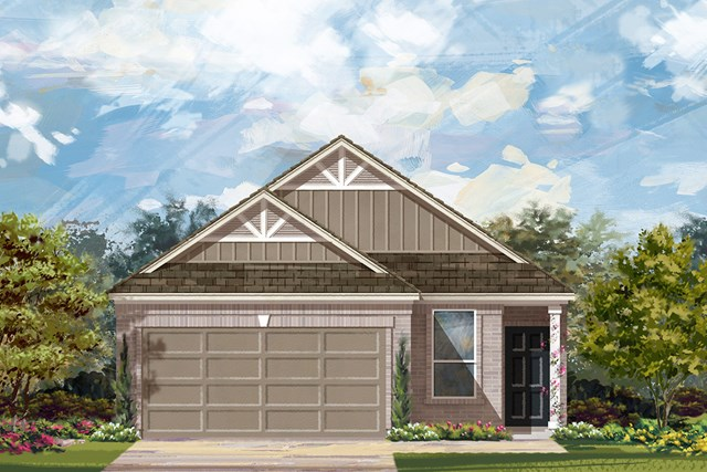New Homes in Georgetown, TX - Plan F-1585 L