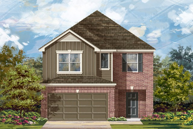 New Homes in Georgetown, TX - Plan F-2038 L