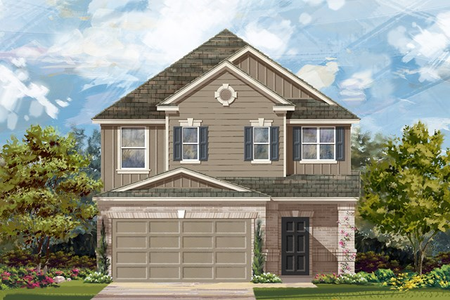 New Homes in Georgetown, TX - Plan F-2495 L