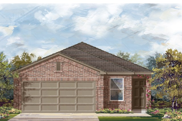 New Homes in Georgetown, TX - Plan F-1585 I