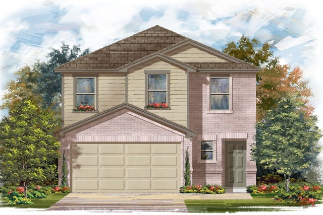 New Homes in Georgetown, TX - Plan F-1601 I
