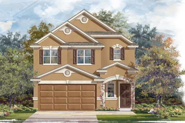 New Homes in Georgetown, TX - Plan F-1601 J