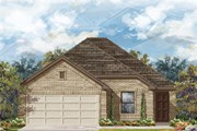 New Homes in Georgetown, TX - Plan E-1694 MODELED