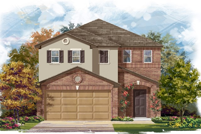 New Homes in Georgetown, TX - Plan F-1771 I