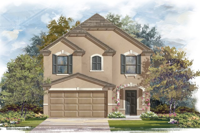 New Homes in Georgetown, TX - Plan F-1771 J