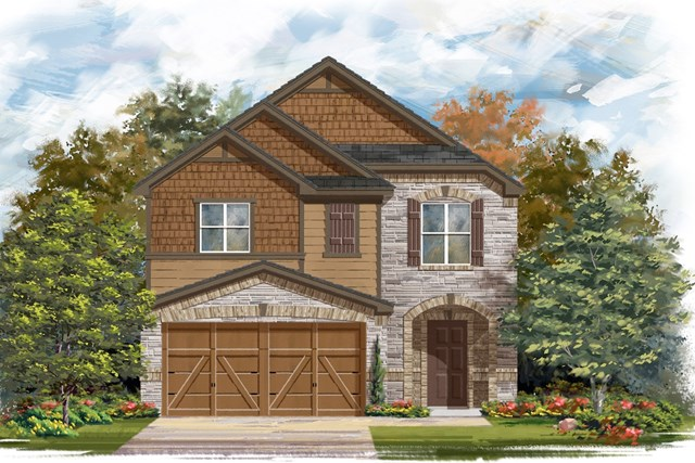 New Homes in Georgetown, TX - Plan F-1771 K
