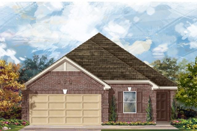 New Homes in Georgetown, TX - Plan E-1892 H