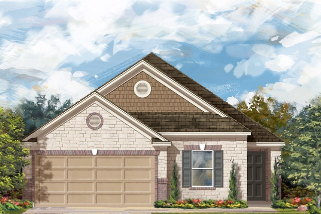 New Homes in Georgetown, TX - Plan E-1892 I