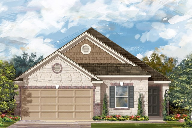 New Homes in Georgetown, TX - Plan E-1892 J