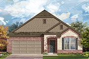 New Homes in Georgetown, TX - Plan A-1996