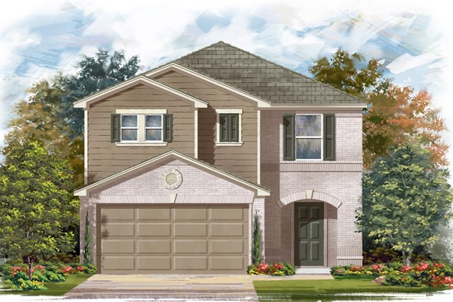 New Homes in Georgetown, TX - Plan F-2038 I