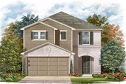 New Homes in Georgetown, TX - Plan F-2038 MODELED