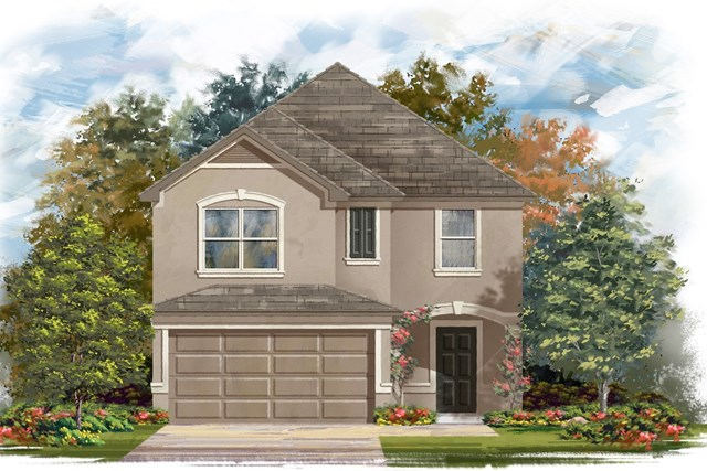New Homes in Georgetown, TX - Plan F-2038 J