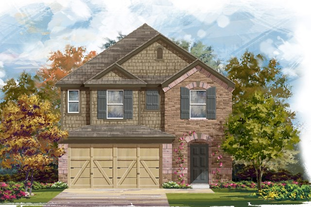 New Homes in Georgetown, TX - Plan F-2038 K