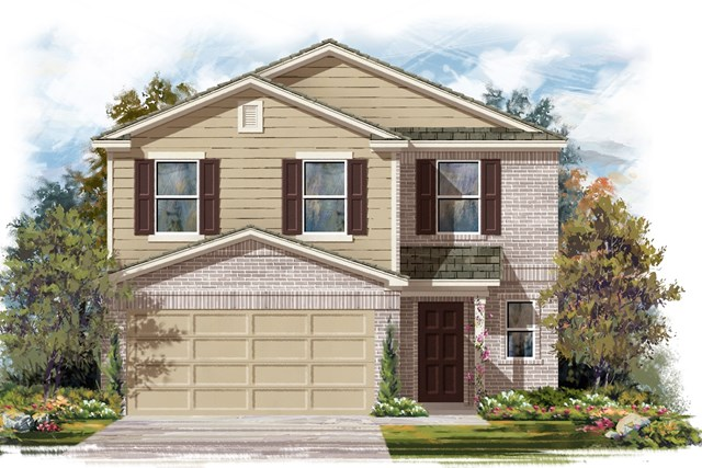 New Homes in Georgetown, TX - Plan F-2239 I
