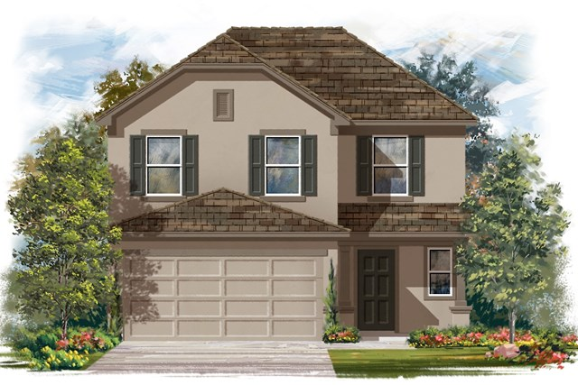 New Homes in Georgetown, TX - Plan F-2239 J