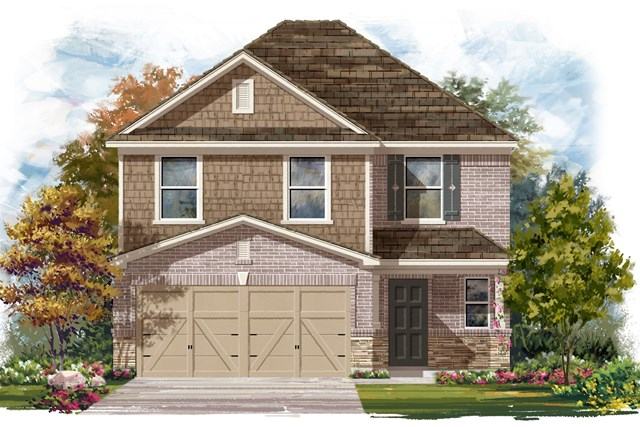 New Homes in Georgetown, TX - Plan F-2239 K