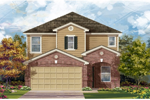 New Homes in Georgetown, TX - Plan F-2411 I