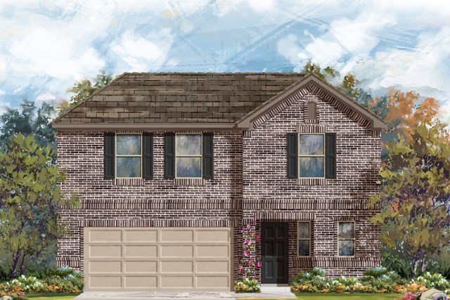 New Homes in Georgetown, TX - Plan E-2412 H