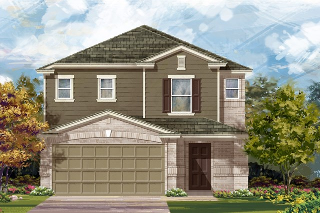 New Homes in Georgetown, TX - Plan F-2495 I