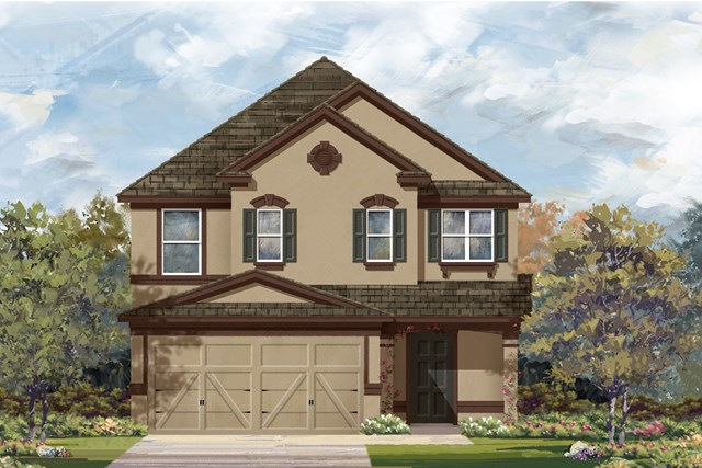 New Homes in Georgetown, TX - Plan F-2495 J