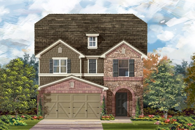 New Homes in Georgetown, TX - Plan F-2495 K