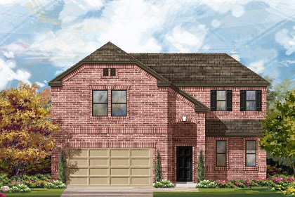 New Homes in Taylor, TX - Plan A-2502 B