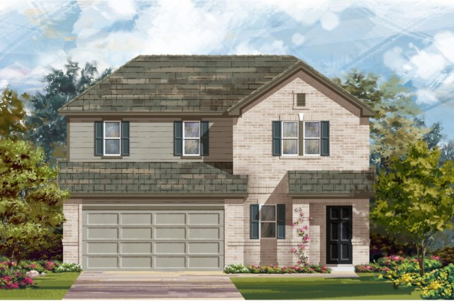 New Homes in Georgetown, TX - Plan E-2516 H