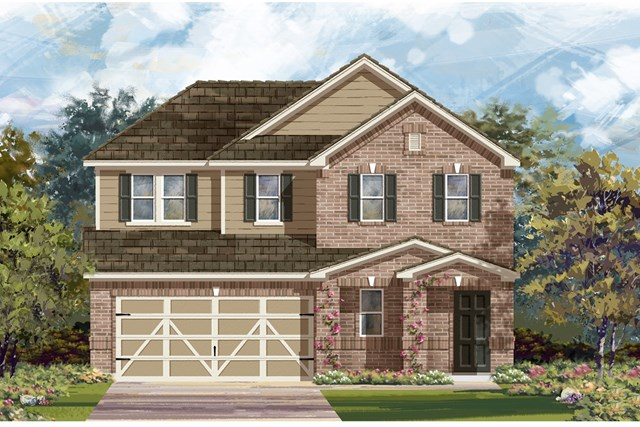 New Homes in Georgetown, TX - Plan E-2516 I