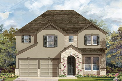 New Homes in Georgetown, TX - Plan A-2755 D