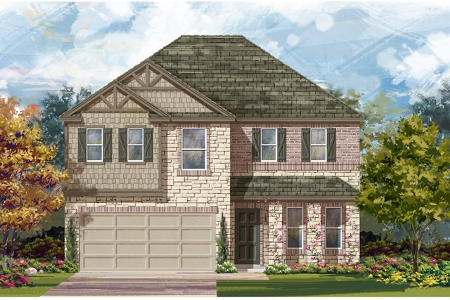 New Homes in Georgetown, TX - Plan E-2898 J