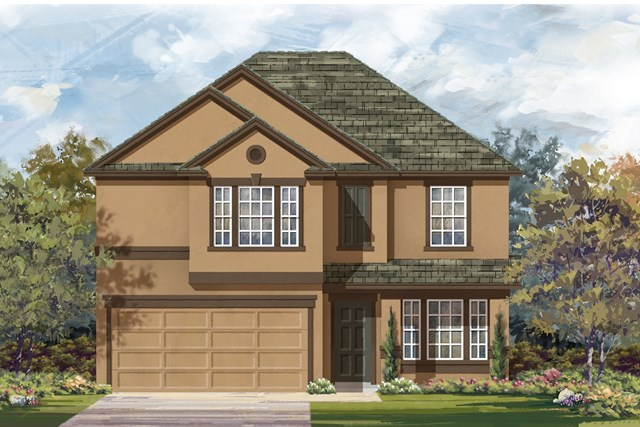 New Homes in Georgetown, TX - Plan E-2898 K