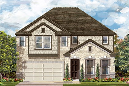 New Homes in Georgetown, TX - Plan A-3023 C