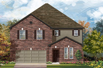 New Homes in Georgetown, TX - Plan A-3475 A