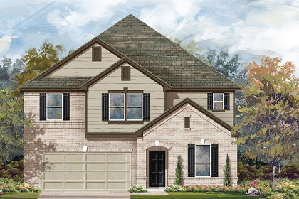 New Homes in Georgetown, TX - Plan A-3475 B